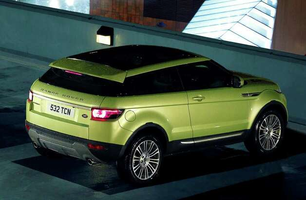 The new Range Rover Evoque is available with a panoramic sunroof that runs almost the full length of the vehicle's top. COURTESY OF JAGUAR LAND ROVER NORTH AMERICA Photo: Jaguar Land Rover North America, COURTESY OF JAGUAR LAND ROVER NORTH AMERICA