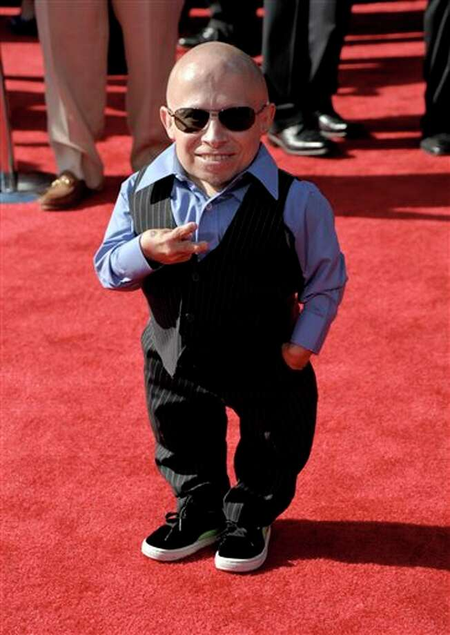 Actor Verne Troyer arrives at the ESPY awards on Wednesday, July 13, 2011, in Los Angeles. (AP Photo/Dan Steinberg) Photo: Associated Press