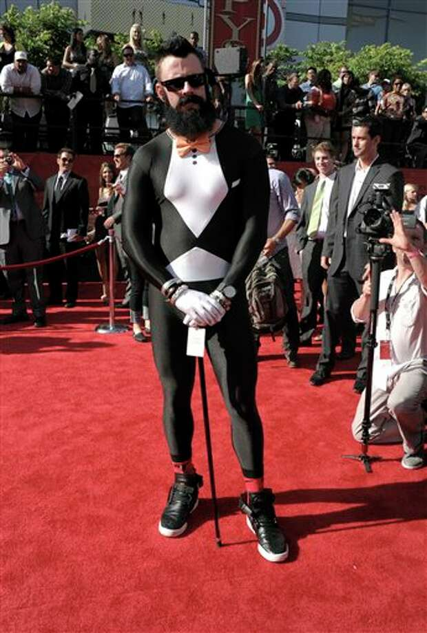 Brian Wilson arrives at the ESPY awards on Wednesday, July 13, 2011, in Los Angeles. (AP Photo/Dan Steinberg) Photo: Associated Press