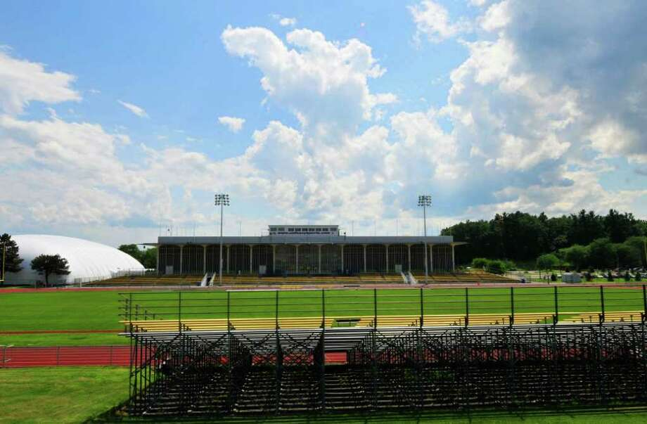 UAlbany main sports field in Albany, NY Wednesday July 13,2011.( Michael P. Farrell/Times Union ) Photo: Michael P. Farrell