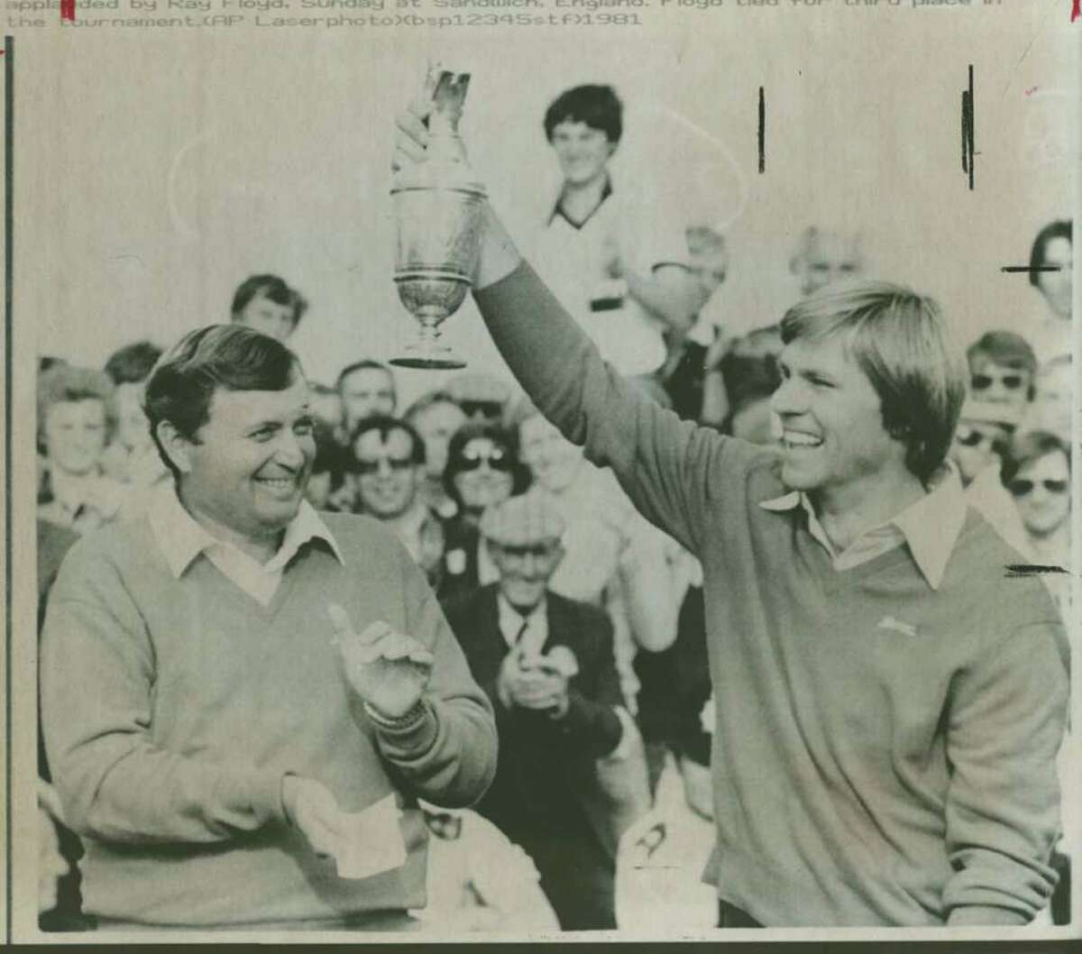Bill Rogers at the 1981 British Open. Associated Press