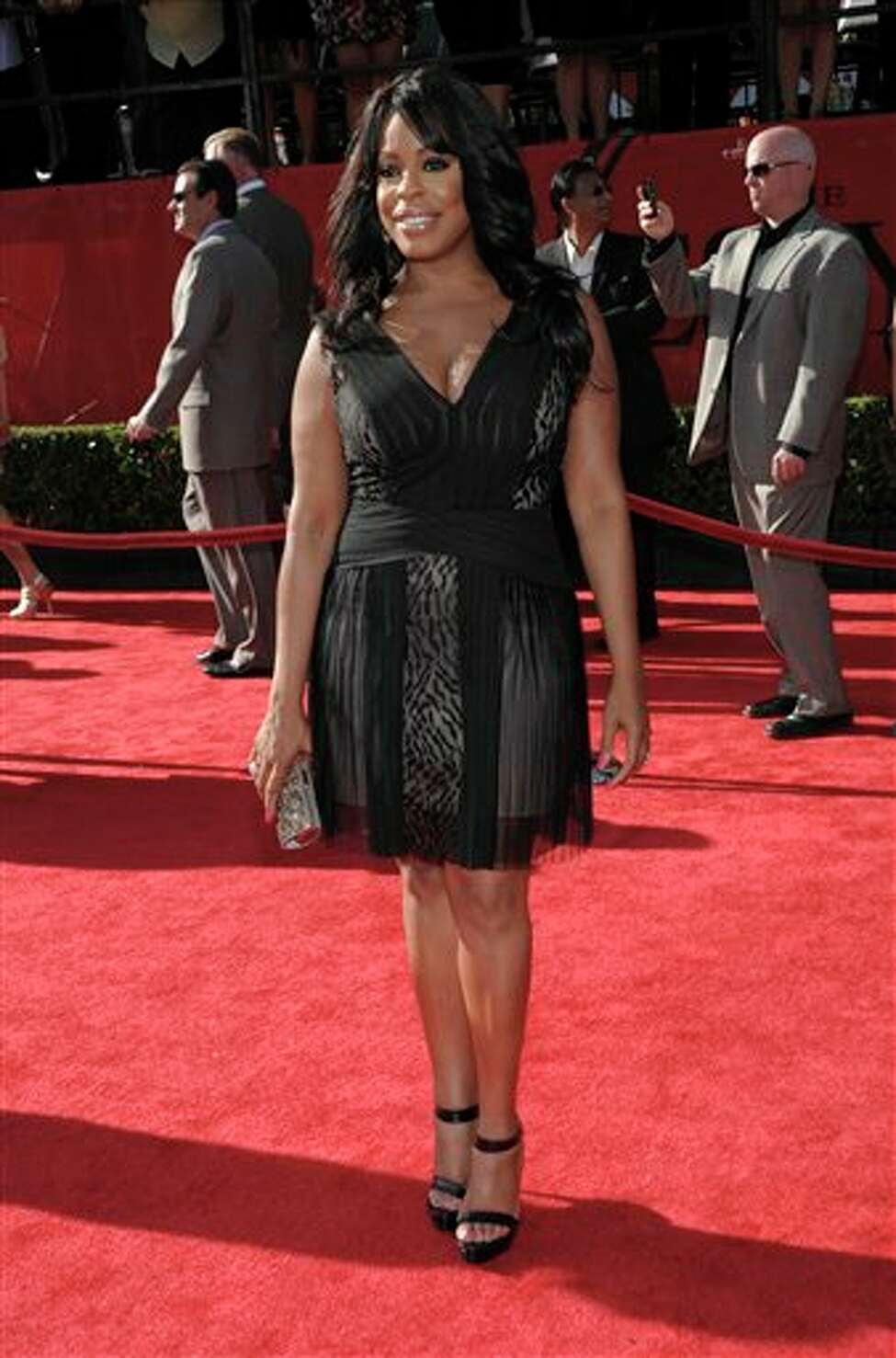 Comedian Niecy Nash arrives at the ESPY awards on Wednesday, July 13, 2011, in Los Angeles. (AP Photo/Dan Steinberg)