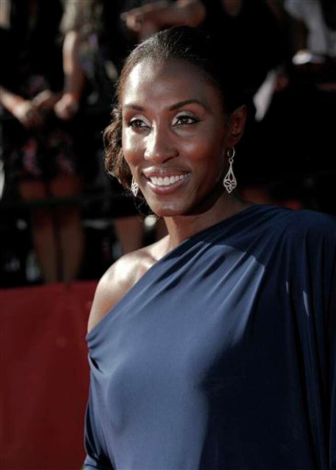 Lisa Leslie arrives at the ESPY awards on Wednesday, July 13, 2011, in Los Angeles. (AP Photo/Dan Steinberg) Photo: Associated Press