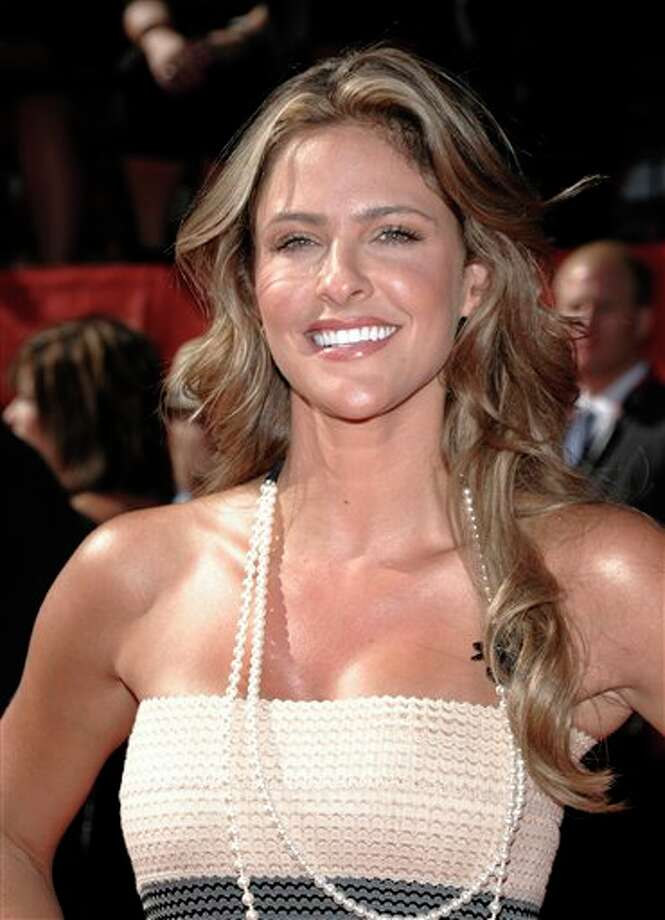 Jill Wagner arrives at the ESPY awards on Wednesday, July 13, 2011, in Los Angeles. (AP Photo/Dan Steinberg) Photo: Associated Press