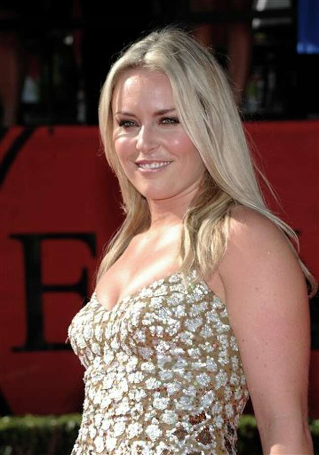 Lindsey Vonn arrives at the ESPY awards on Wednesday, July 13, 2011, in Los Angeles. (AP Photo/Dan Steinberg) Photo: Associated Press