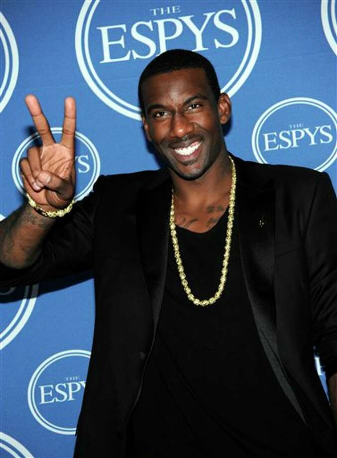 New York Knicks Amare Stoudemire poses backstage at the ESPY awards on Wednesday, July 13, 2011, in Los Angeles. (AP Photo/Dan Steinberg) Photo: Associated Press