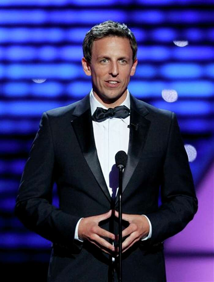 Host Seth Meyers at the ESPY Awards on Wednesday, July 13, 2011, in Los Angeles. (AP Photo/Matt Sayles) Photo: Associated Press