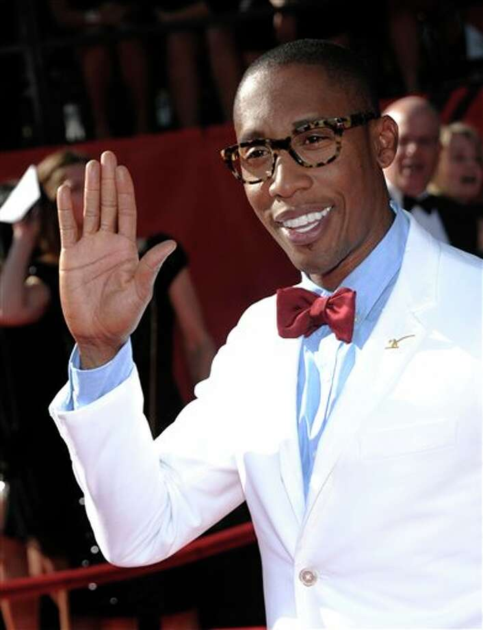 Raphael Saadiq arrives at the ESPY awards on Wednesday, July 13, 2011, in Los Angeles. (AP Photo/Dan Steinberg) Photo: Associated Press