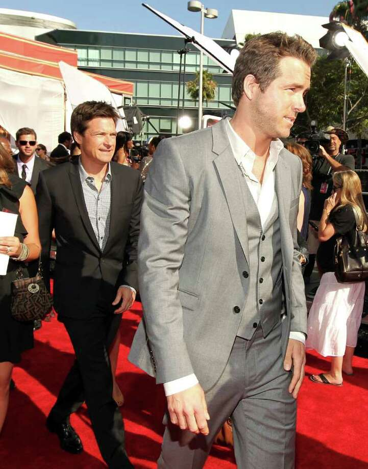 LOS ANGELES, CA - JULY 13:  Actors Jason Bateman and Ryan Reynolds arrive at The 2011 ESPY Awards at Nokia Theatre L.A. Live on July 13, 2011 in Los Angeles, California. Photo: Christopher Polk, Getty Images For ESPN / 2011 Getty Images