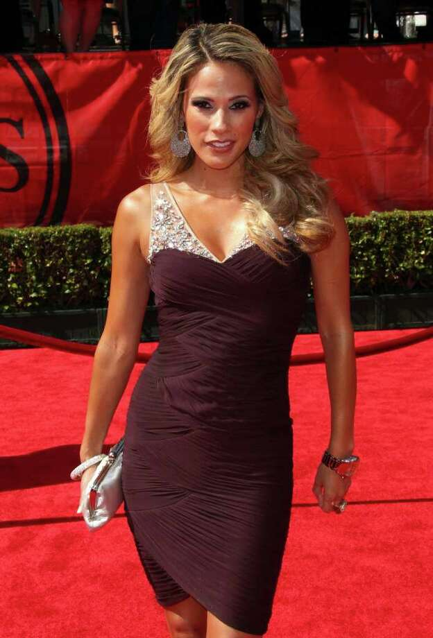 LOS ANGELES, CA - JULY 13:  Actress Bonnie-Jill Laflin arrives at The 2011 ESPY Awards at Nokia Theatre L.A. Live on July 13, 2011 in Los Angeles, California. Photo: Frederick M. Brown, Getty Images / 2011 Getty Images