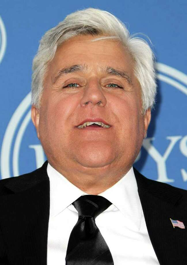 LOS ANGELES, CA - JULY 13:  TV personality Jay Leno poses in the press room at The 2011 ESPY Awards at Nokia Theatre L.A. Live on July 13, 2011 in Los Angeles, California. Photo: Frederick M. Brown, Getty Images / 2011 Getty Images