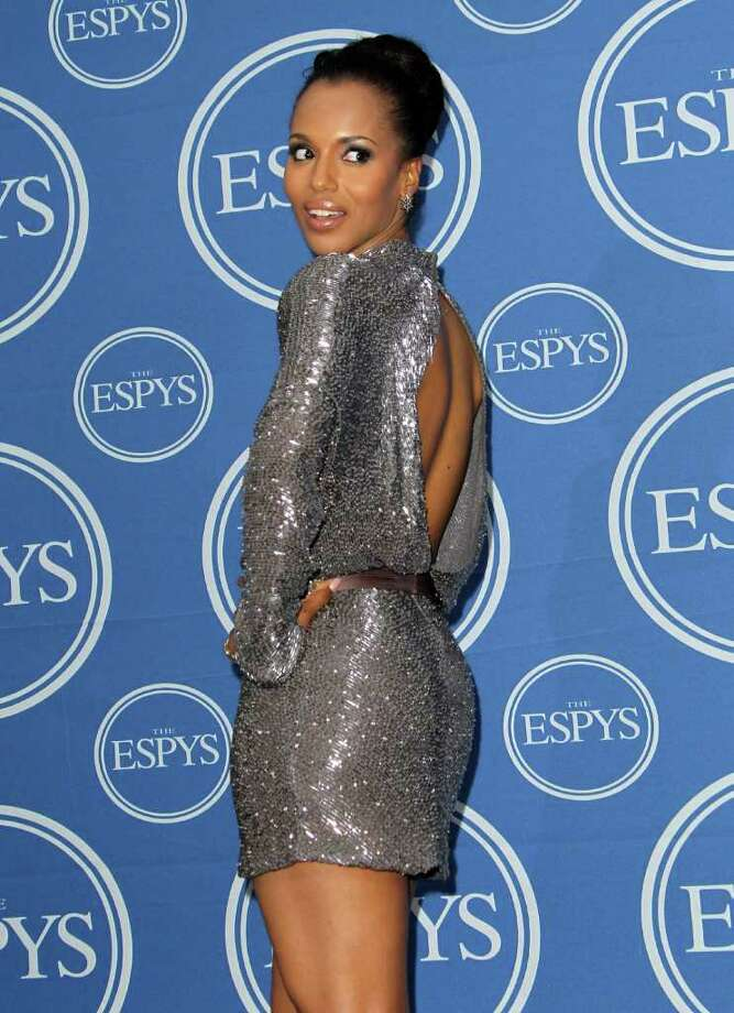 LOS ANGELES, CA - JULY 13:  Actress Kerry Washington poses in the press room at The 2011 ESPY Awards at Nokia Theatre L.A. Live on July 13, 2011 in Los Angeles, California. Photo: Frederick M. Brown, Getty Images / 2011 Getty Images