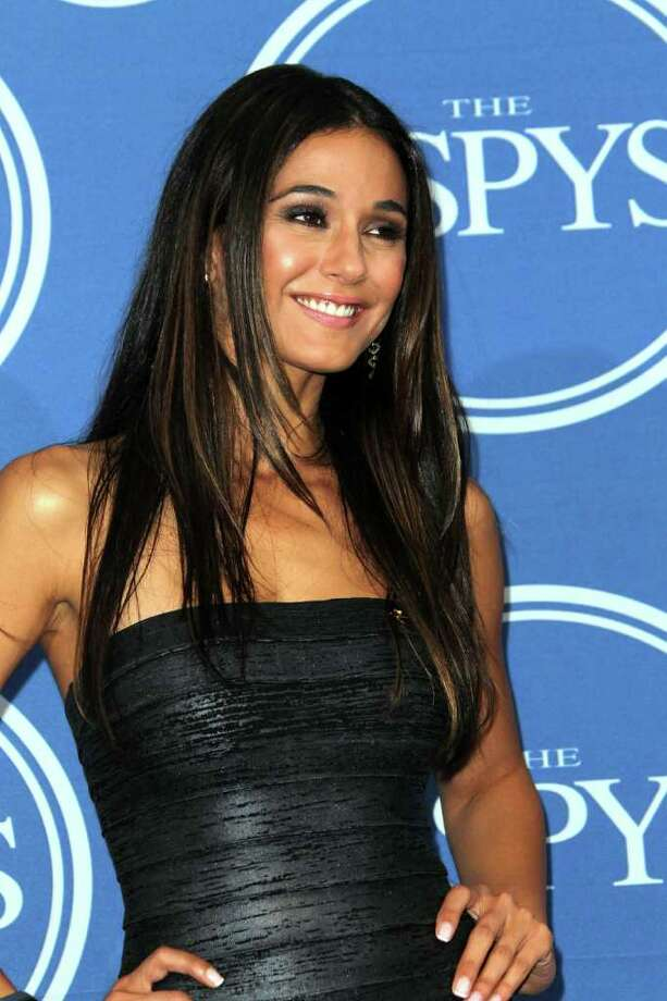 LOS ANGELES, CA - JULY 13:  Actress Emmanuelle Chriqui poses in the press room at The 2011 ESPY Awards at Nokia Theatre L.A. Live on July 13, 2011 in Los Angeles, California. Photo: Frederick M. Brown, Getty Images / 2011 Getty Images