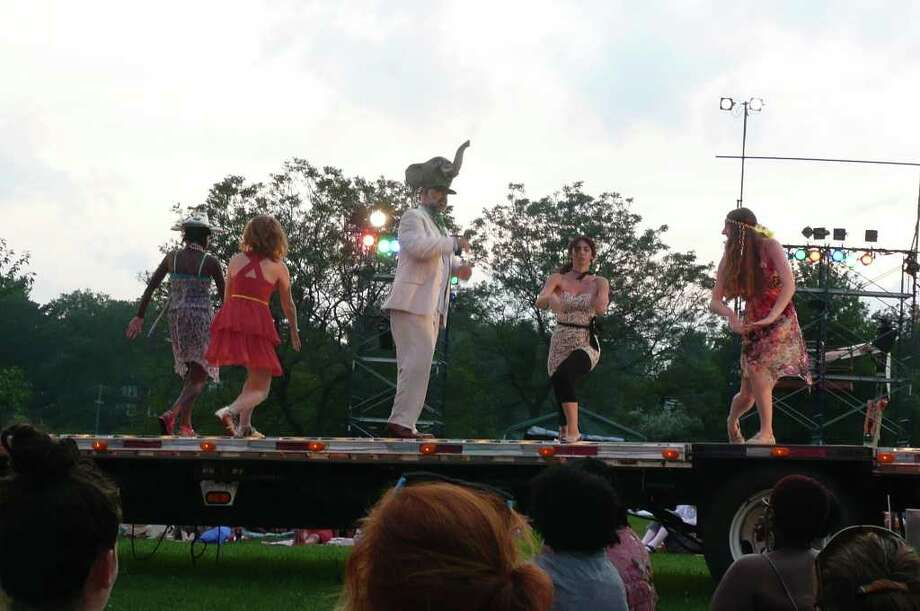 Shakespeare on the Sound production of Much Ado About Nothing at Roger Sherman Baldwin Park Photo: Anne W. Semmes