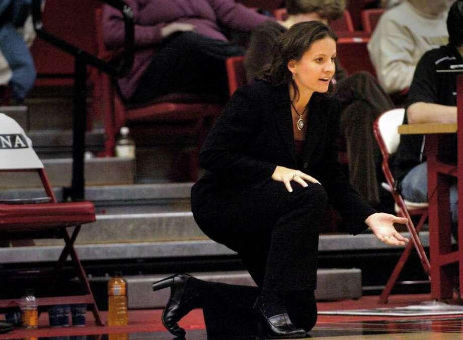 University of Hartford women's basketball coach Jennifer Rizzotti Dec. 7th, 2007. Photo: File Photo / Stamford Advocate File Photo