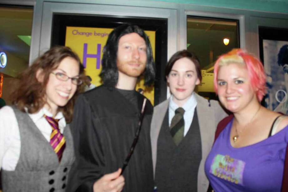 "Were you Seen at the midnight showing of ""Harry Potter and the Deathly Hallows, Part 2"" at the Spectrum 8 Theatres in Albany? Read the review. (Molly Eadie)"