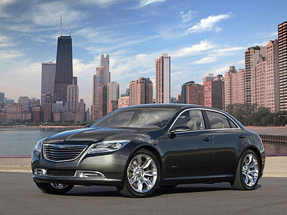 2011 Chrysler 200 (photo courtesy Chrysler) Photo: Bill Delaney