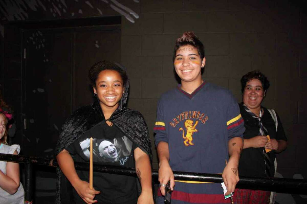 """Were you Seen at the midnight showing of """"Harry Potter and the Deathly Hallows, Part 2"""" at the Spectrum 8 Theatres in Albany? Read the review. (Molly Eadie)"""