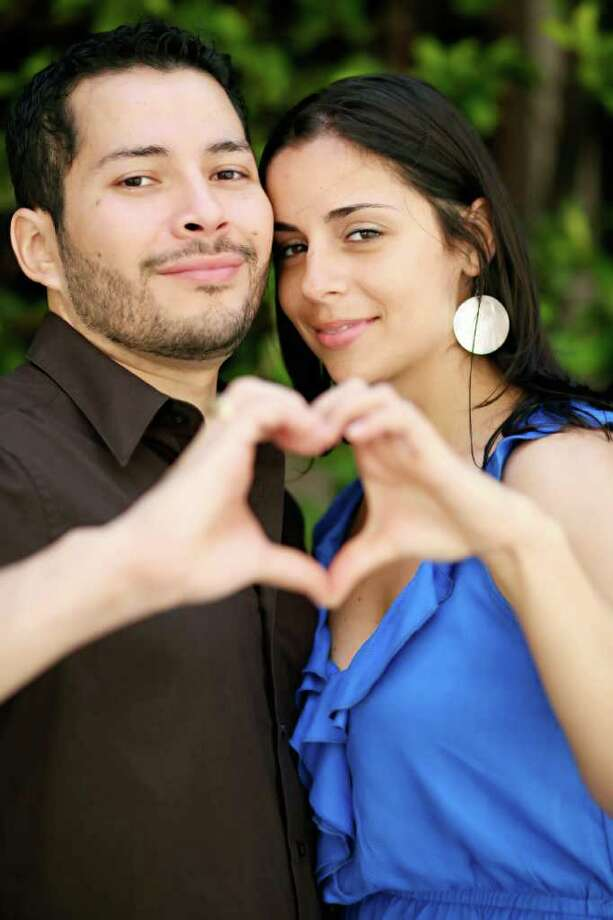 Michele Williamson, and fiance Marvin Velazquez, owners of the Heart Bandits. Photo: Courtesy Of Michele Williamson.