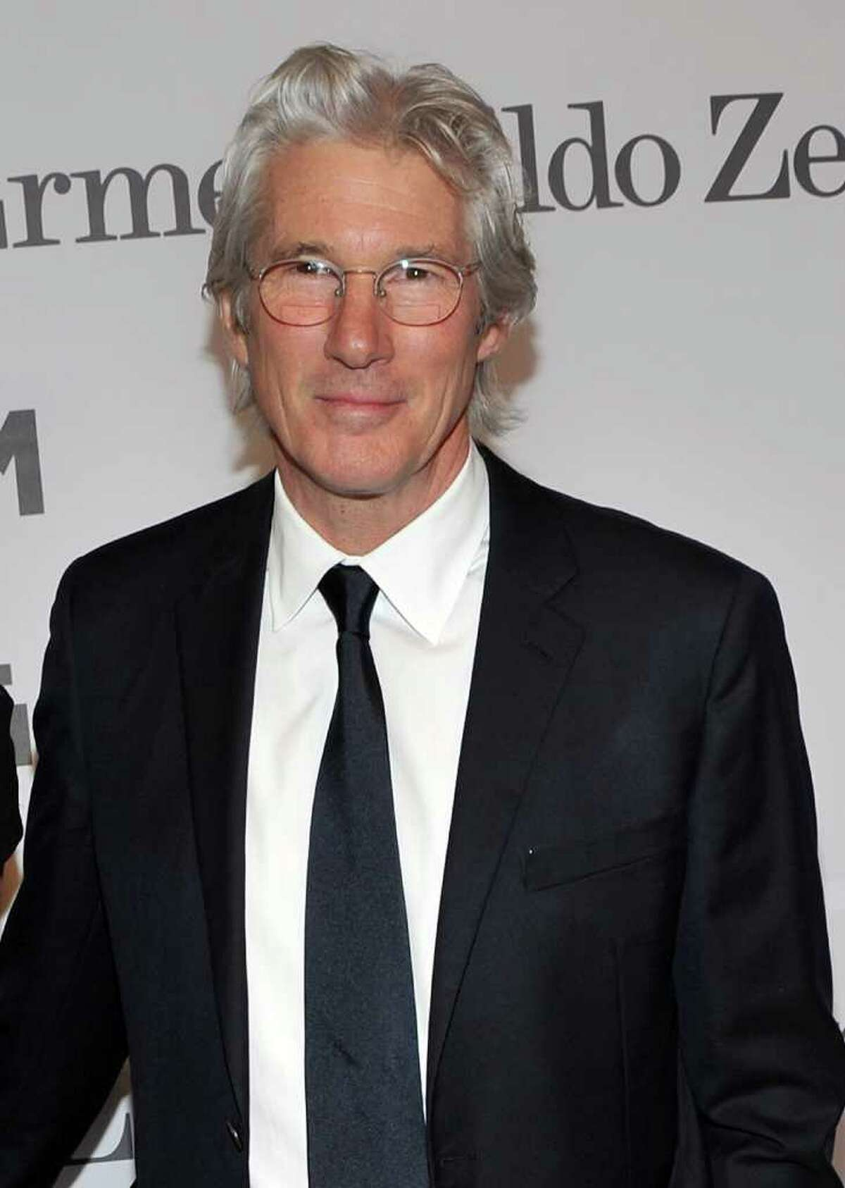 Actor Richard Gere, pictured in February at the Museum of the Moving Image salute to Alec Baldwin, was recently seen at the Stamford on the Sound Food & Wine Festival in Harbor Point's Commons Park. (Photo by Stephen Lovekin/Getty Images)