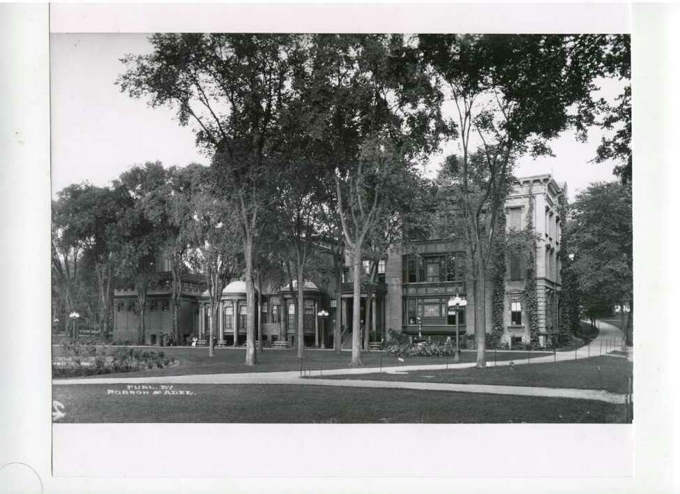 Click through the slideshow for historical photos of Saratoga Springs. Canfield Casino, actual date unknown. Depending on who you talk to, the Casino, which is now part museum, is haunted. (Courtesy of Saratoga Springs Historical Museum, George S. Bolster collection)