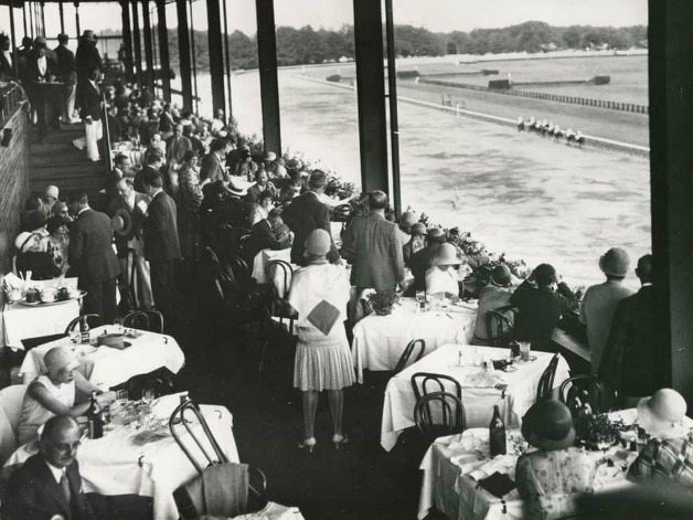 The crowded second floor dining area at the Spa in 1929. (Courtesy of Saratoga Springs Historical Museum, George S. Bolster collection)