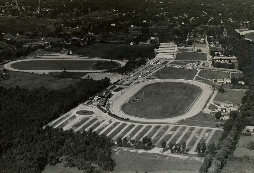 Here is a look at Saratoga Raceway, the harness track, from June 19, 1951.  (Times Union Archives
