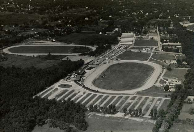 Here is a look at Saratoga Raceway, the harness track, from June 19, 1951.  (Times Union Archives)