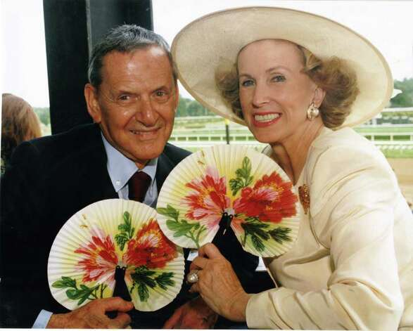 Marylou Whitney and Tony Randall (Courtesy Marylou Whitney)