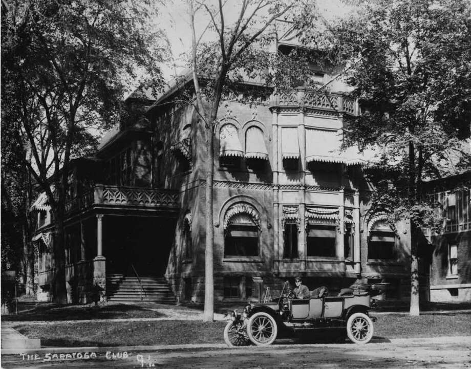 PHOTO COURTESY OF THE GEORGE S. BOLSTER COLLECTION OF THE HISTORICAL SOCIETY OF SARATOGA SPRINGS--THE SARATOGA CLUB, WHICH ONCE EXISTED AT 517 NORTH BROADWAY. Photo: SEE CAPTION FOR CREDIT / SEE CAPTION FOR CREDIT