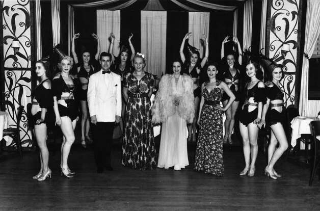 Photo Courtesy of the George S. Bolster Collection of the Historical Society of Saratoga Springs --  Photographer, H.B. Settle -- Entertainers at the Meadowbrook Club which was out Union Ave, past the current Yaddo site in Saratoga Springs in this August 13, 1938 photo. Photo: UNKNOWN / GEORGE S. BOLSTER COLLECTION