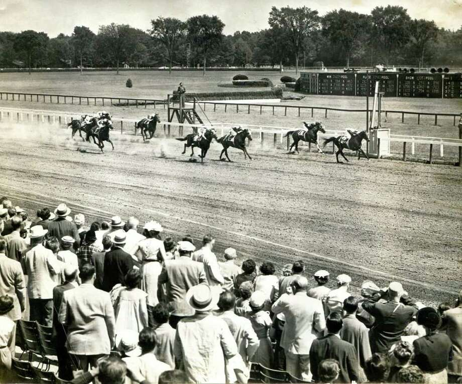 Saratoga Race Course on Aug. 3, 1954