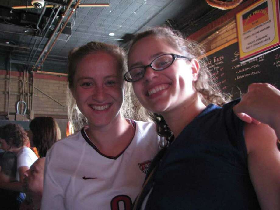 Were you seen @ Biergarten: World Cup? Photo: Desiree' LaBombard