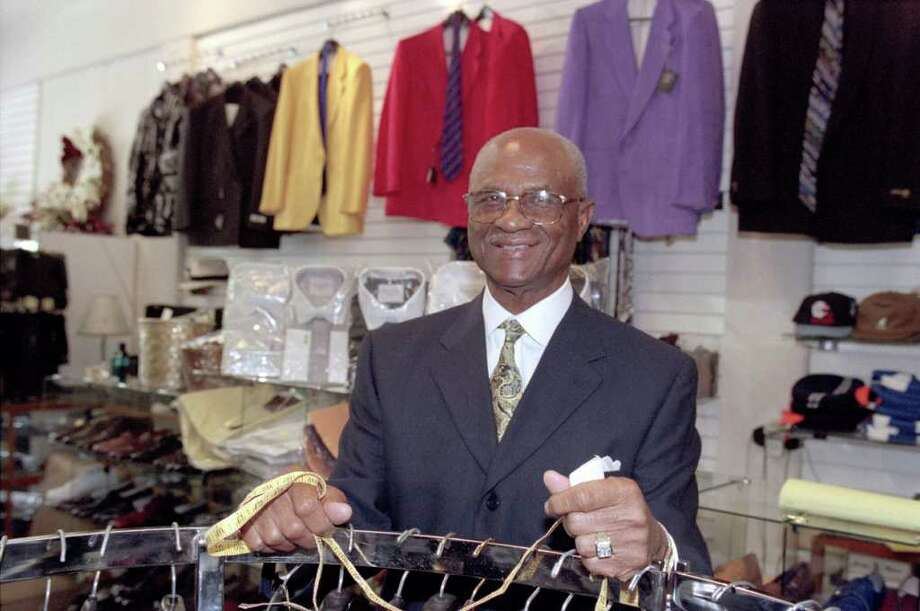 Booker T. Caldwell Photo: Houston Chronicle Photo Library