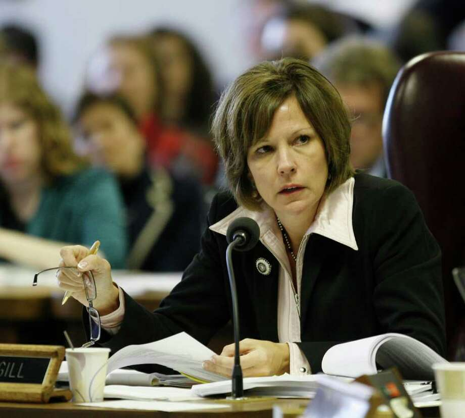 Barbara Cargill will lead her first meeting as education board chairwoman this week. Photo: Harry Cabluck/Associated Press / AP