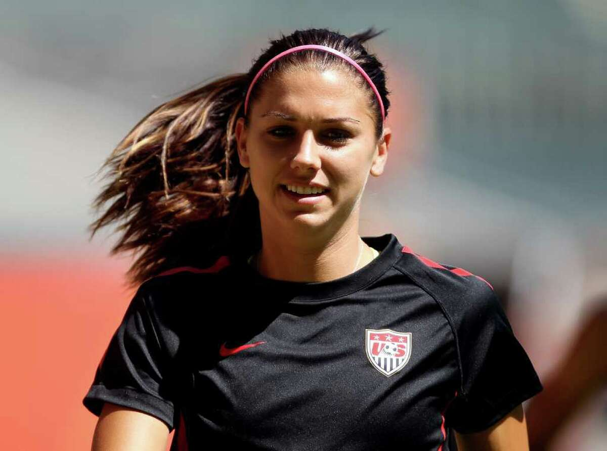 Impressed by her looks as much as her stellar performance in the World Cup, adoring fans have flooded Morgan's Facebook page with marriage proposals -- it's only a matter of time before she gets an invitation to the Marine Corps Ball, like teammate Hope Solo. Unfortunately for her admirers, Morgan has a long-term boyfriend, Servando Carrasco, a fellow Cal soccer alum who now plays for the Seattle Sounders.