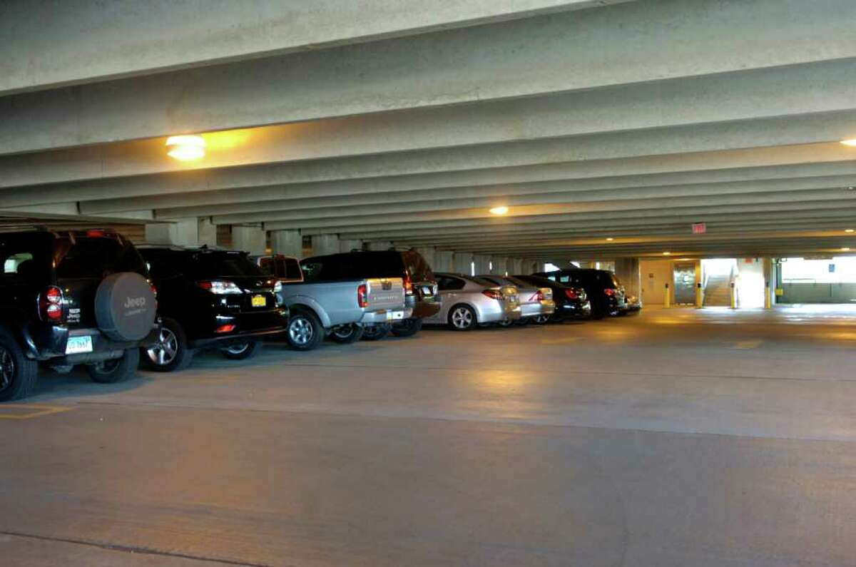 The Stamford Transportation Center Garage on Station Place on Thursday, July 14, 2011.