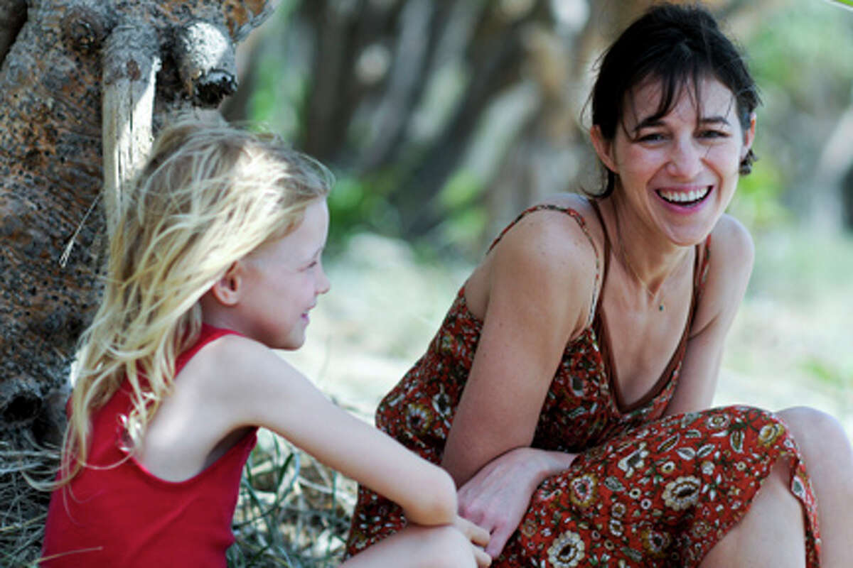 (L-R) Morgana Davies as Simone and Charlotte Gainsbourg as Dawn in