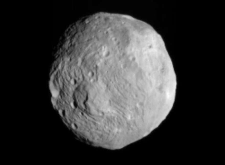The Asteroid Vesta Photo: The Associated Press
