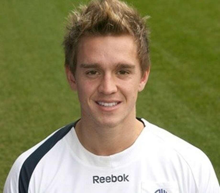 Stuart Holden Bolton of the English Premier League  2010 team photo