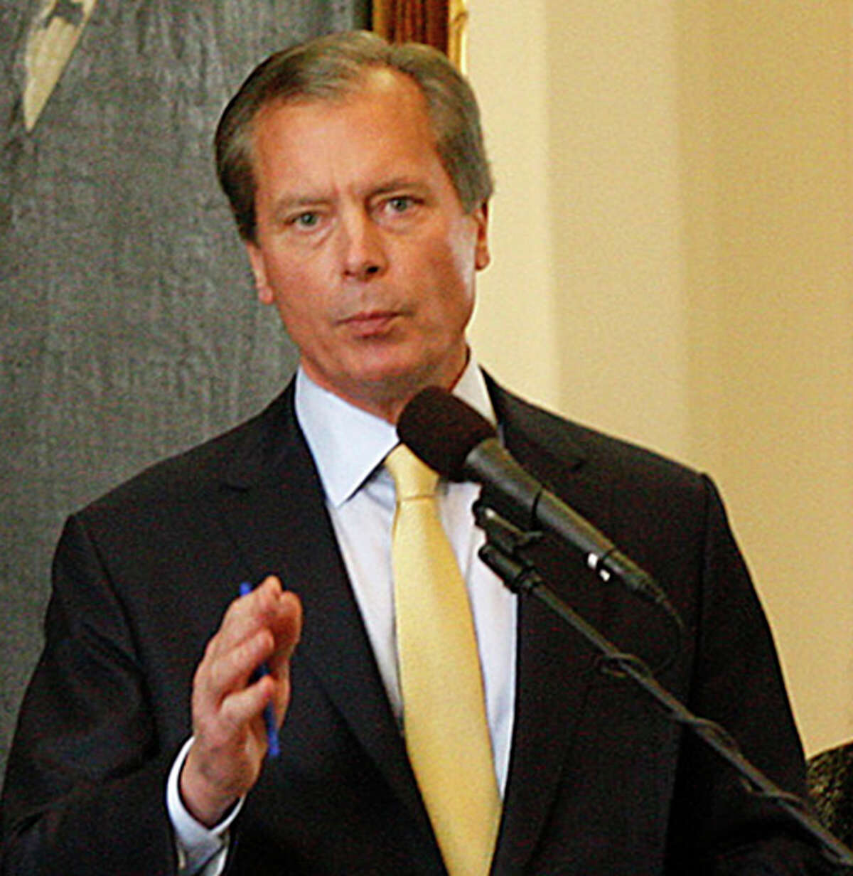 Lt. Gov. David Dewhurst, seen on Jan. 24, 2011, is expected by midweek to make his official announcement that he'll be seeking the Senate seat held by Kay Bailey Hutchison.