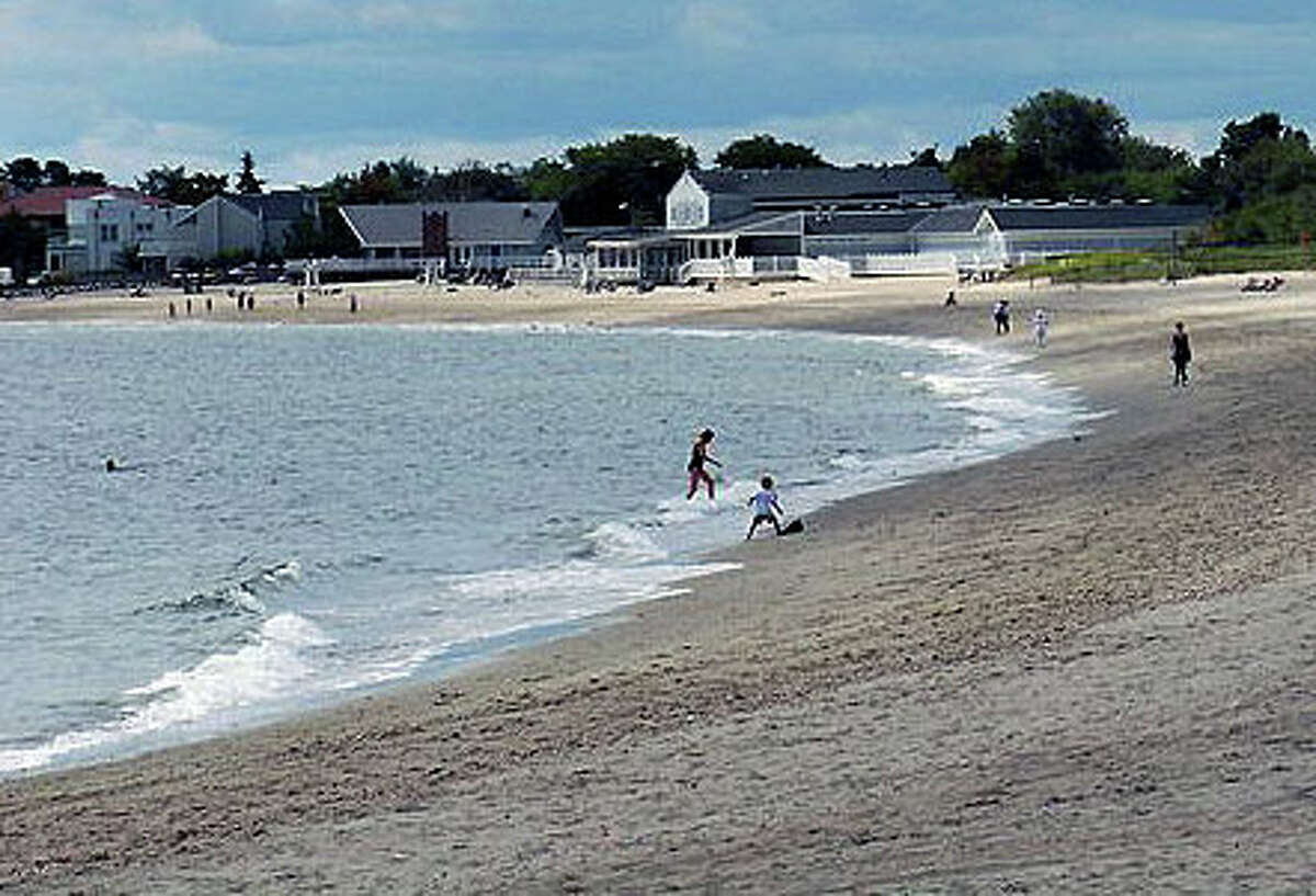 A Bridgeport woman who had to be rescued from the water at Jennings Beach last week has died.