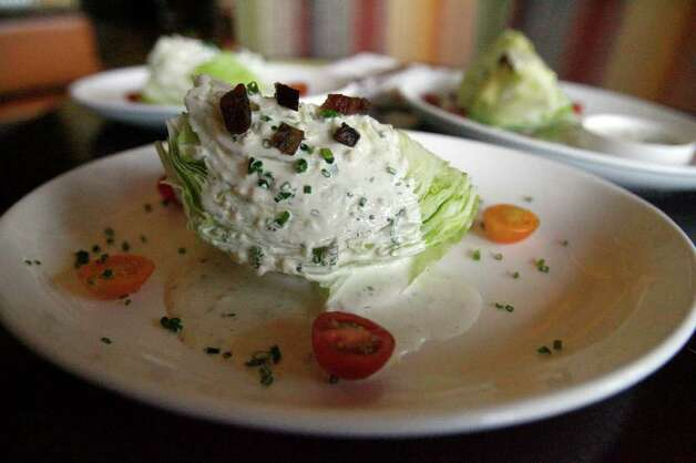 The ranch dressing at the 18 Oaks restaurant at the JW Marriott is made in-house with fresh ingredients. Photo: OMAR PEREZ, San Antonio Express-News / SAN ANTONIO EXPRESS-NEWS