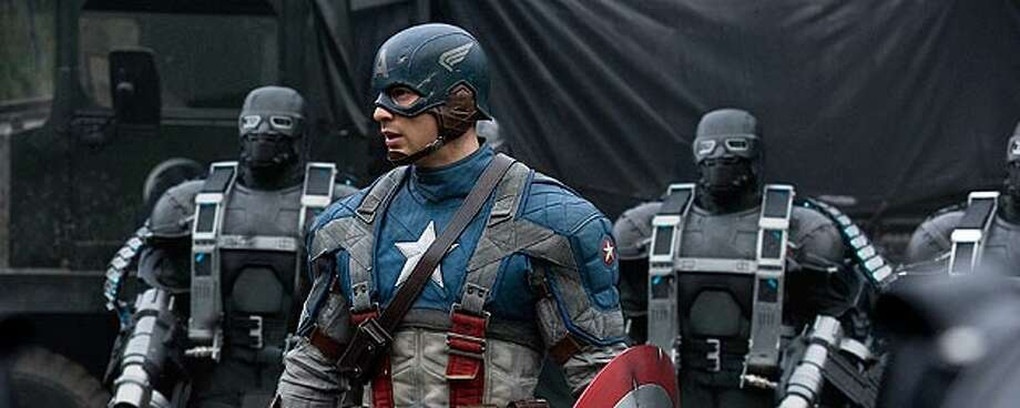 """Captain America, played by Chris Evans in the new film 'Captain America: The First Avenger"""" represents the best in all of us, according to Joe Simon, who created the character in 1941. PARAMOUNT PICTURES / MARVEL ENTERTAINMENT"""