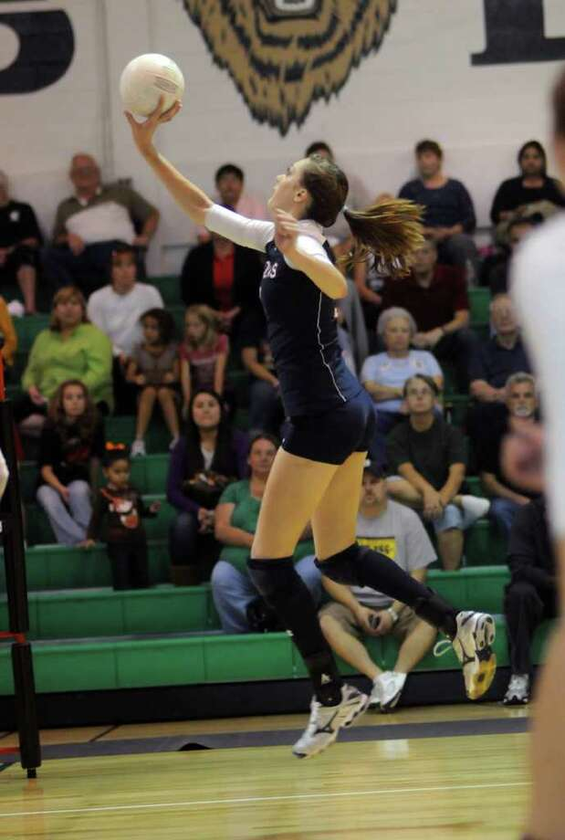 Klein Collins sophomore middle blocker & outside hitter Molly McCage Photo: Jerry Baker, Freelance / Freelance