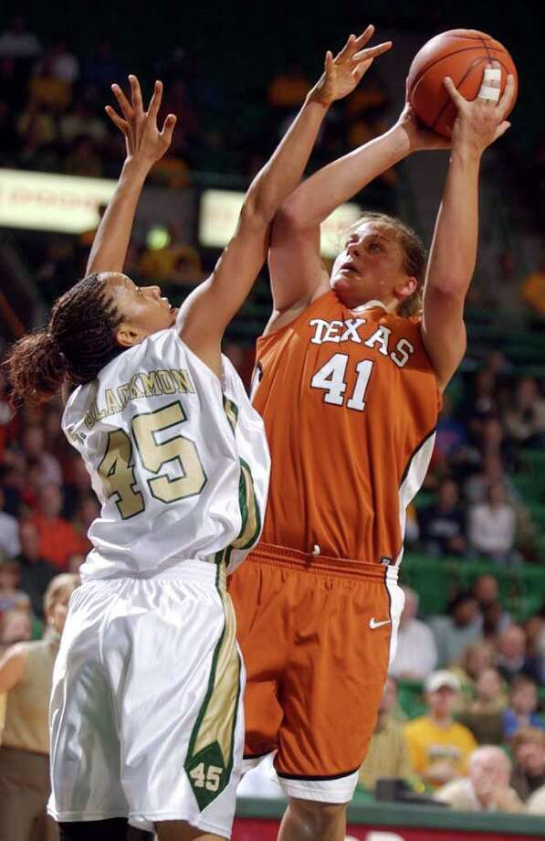 Former University of Texas forward Stacy Stephens, will join the Our Lady of the Lake University Women's Basketball staff. She was the third UT player to score at least 1,000 points and collect 1,000 rebounds. Photo: AP Photo/Waco Tribune-Herald,   Duane A. Laverty / WACO TRIBUNE HERALD
