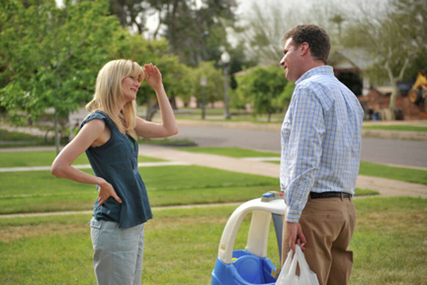 Laura Dern as Delilah and Will Ferrell as Nick Halsey in