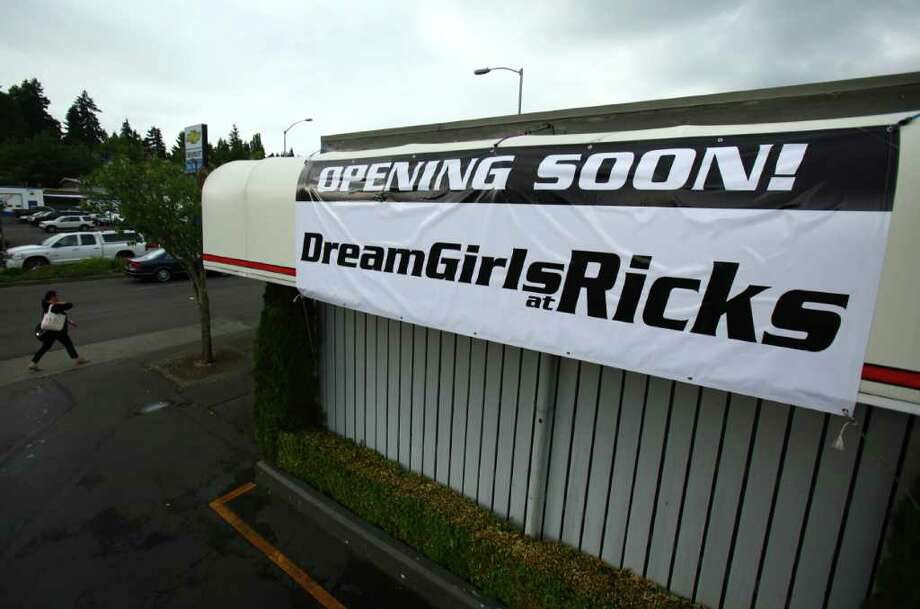 A new sign reveals the intentions of the new owner of the former Rick's strip club on Lake City Way on Tuesday, July 19, 2011 in Seattle's Lake City neighborhood. Photo: JOSHUA TRUJILLO / SEATTLEPI.COM