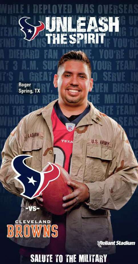 EMBARGO 6PM CST 7/19/11  TEXANS TO UNVEIL 2011 SEASON TICKETS JULY 19 Winners of ?Your Story. Your Glory.? contest to see themselves on tickets for first time. The Texans invited their fans to relay their favorite things about Texans games, whether that be specific game memories, friendships made or game day rituals.  Hundreds of fans entered and the team selected the 10 best for inclusion on the season tickets.   The winning fans took part in a photo shoot at Reliant Stadium on Saturday, April 9; however, none of them know the particular game on which their faces will appear.  The featured fans, along with their invited guests, will see the tickets for the first time at the cocktail party.