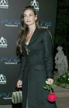 Actress Demi Moore (AP Photo/Chris Weeks) Photo: CHRIS WEEKS, STR / AP2002